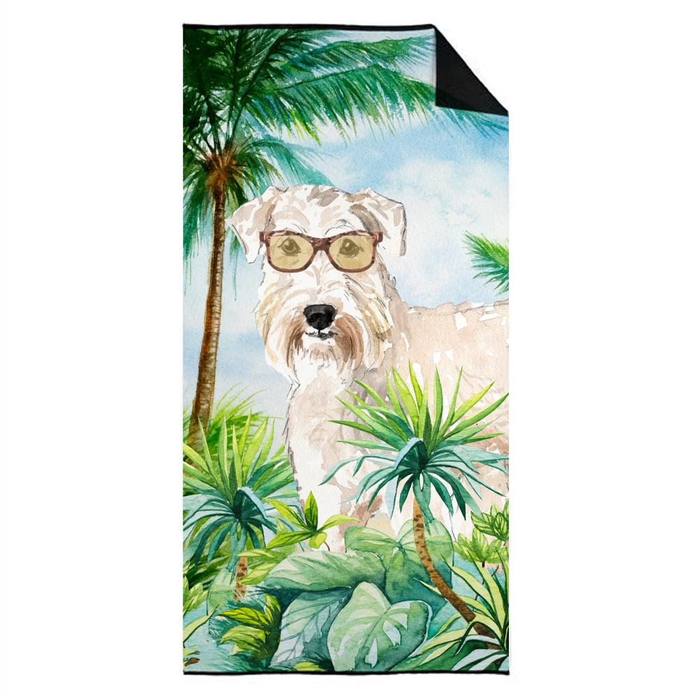 Buy this Wheaten Terrier Premium Beach Towel CK2993TWL3060