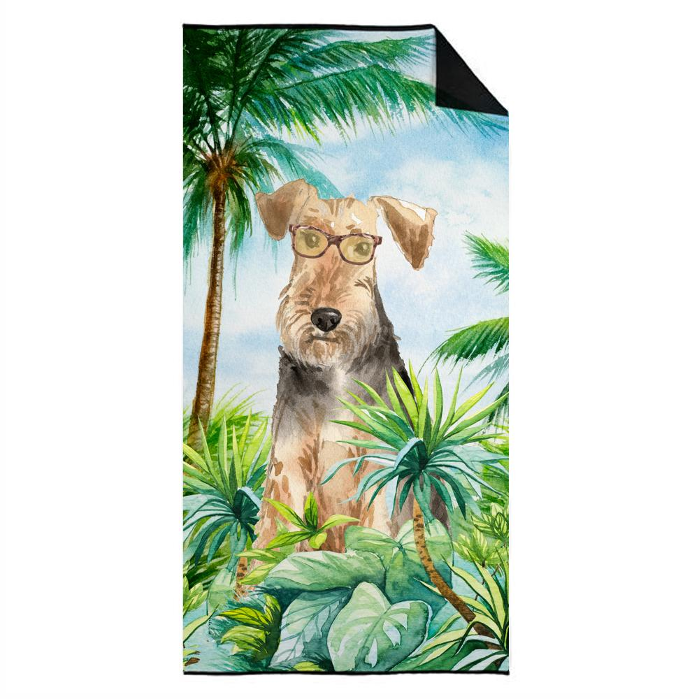 Buy this Airedale Terrier Premium Beach Towel CK2994TWL3060