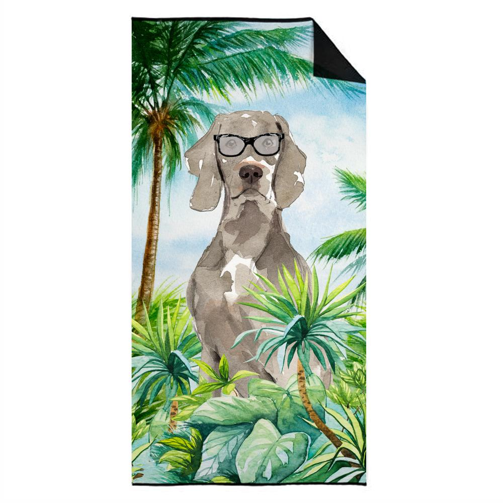 Weimaraner Premium Beach Towel CK2995TWL3060 by Caroline's Treasures