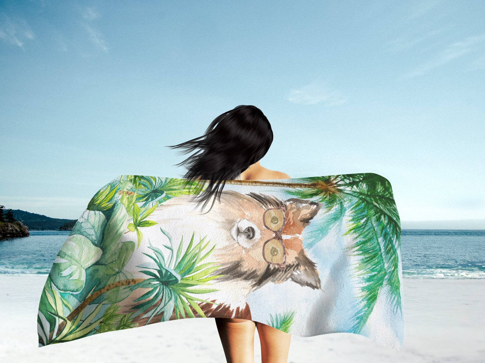 Sheltie Premium Beach Towel CK3000TWL3060 by Caroline's Treasures