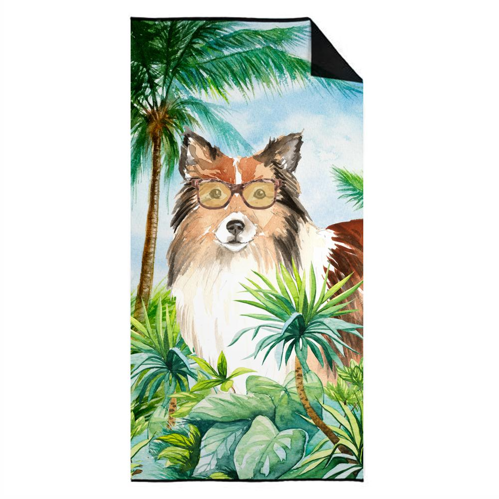 Buy this Sheltie Premium Beach Towel CK3000TWL3060