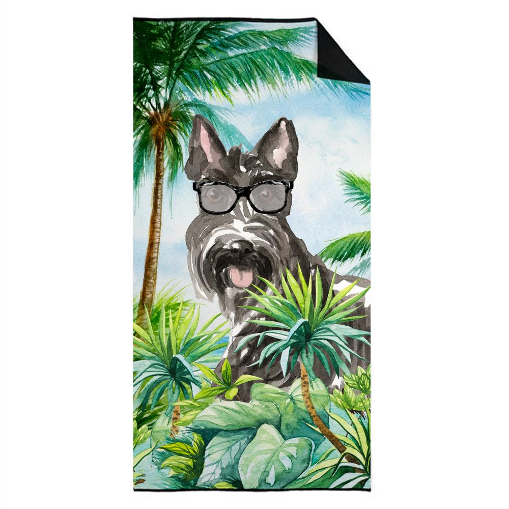 Buy this Scottish Terrier Premium Beach Towel CK3001TWL3060
