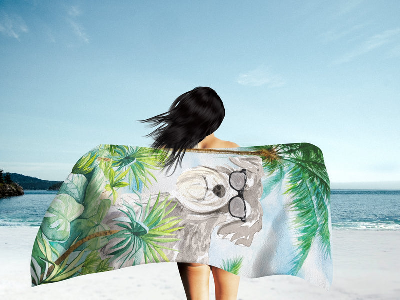 Buy this Schnauzer #1 Premium Beach Towel CK3002TWL3060