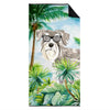 Schnauzer #1 Premium Beach Towel CK3002TWL3060 by Caroline's Treasures