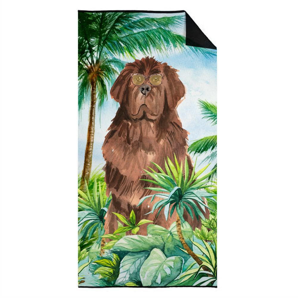 Newfoundland Premium Beach Towel CK3005TWL3060 by Caroline's Treasures