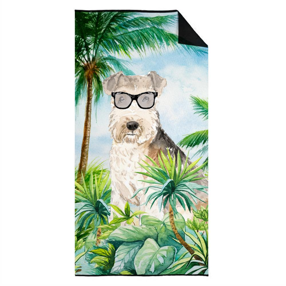 Lakeland Terrier Premium Beach Towel CK3009TWL3060 by Caroline's Treasures