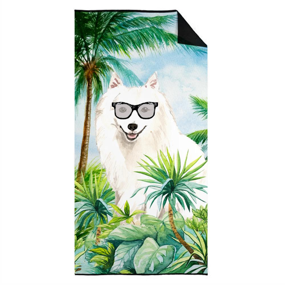 Buy this Japanese Spitz Premium Beach Towel CK3011TWL3060