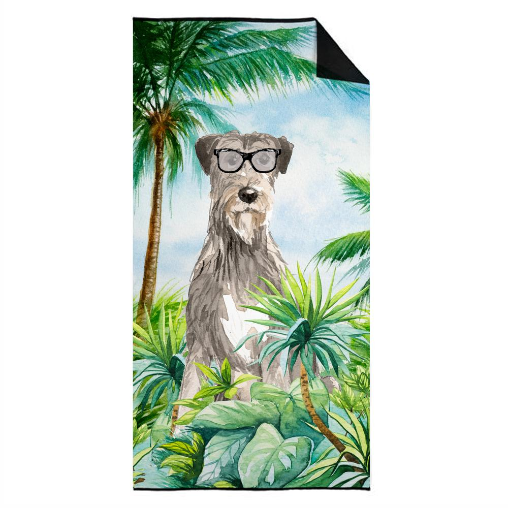 Buy this Irish Wolfhound Premium Beach Towel CK3012TWL3060