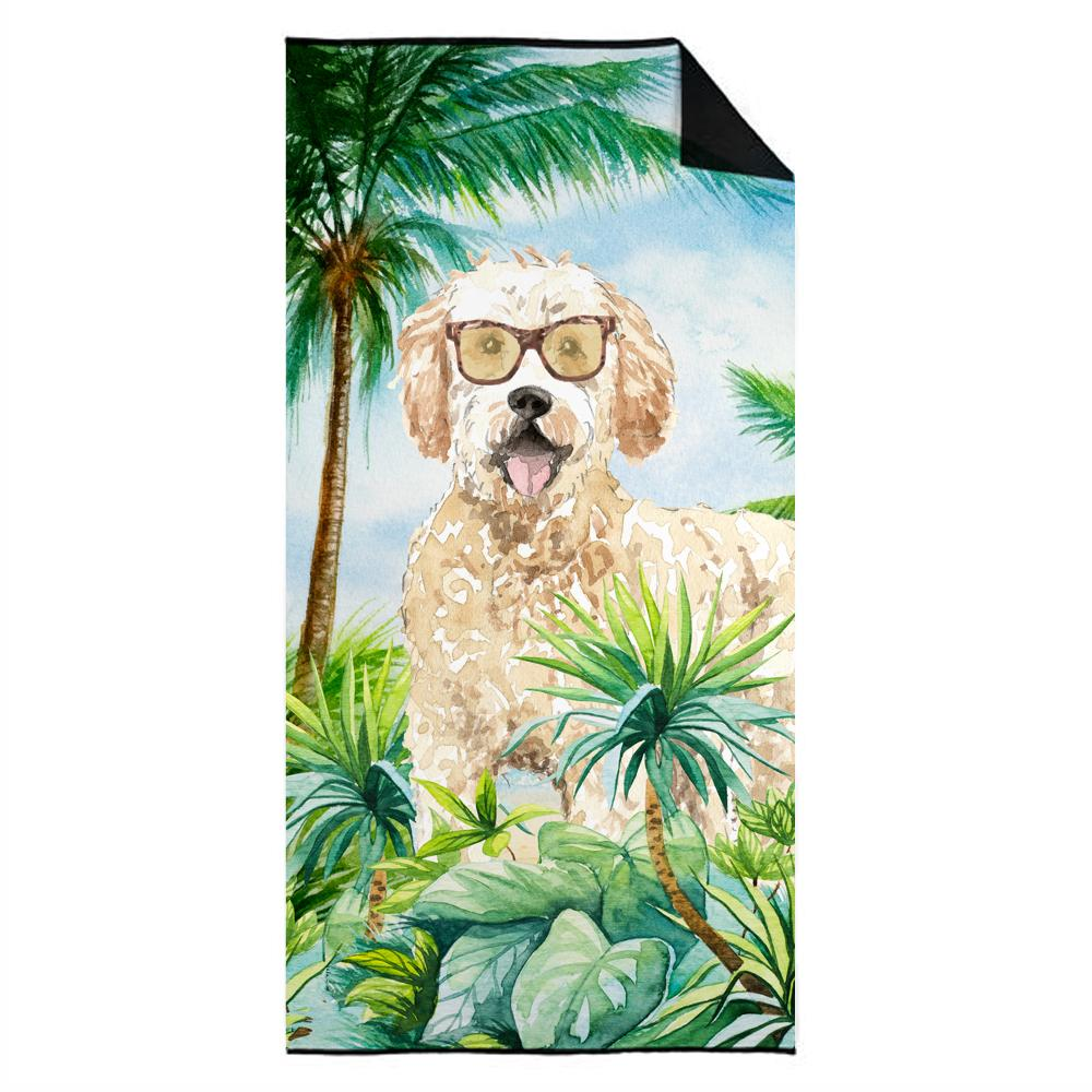 Buy this Goldendoodle Premium Beach Towel CK3015TWL3060