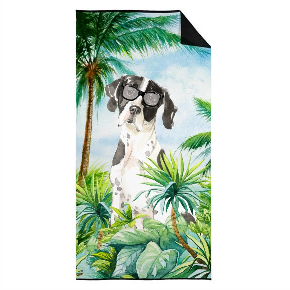 English Pointer Premium Beach Towel CK3016TWL3060 by Caroline's Treasures