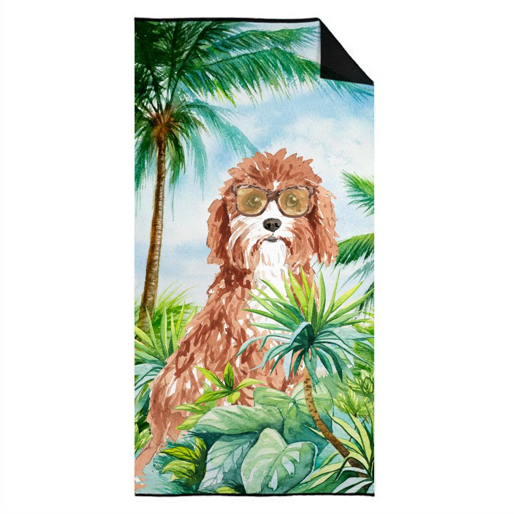 Cavapoo Premium Beach Towel CK3017TWL3060 by Caroline's Treasures