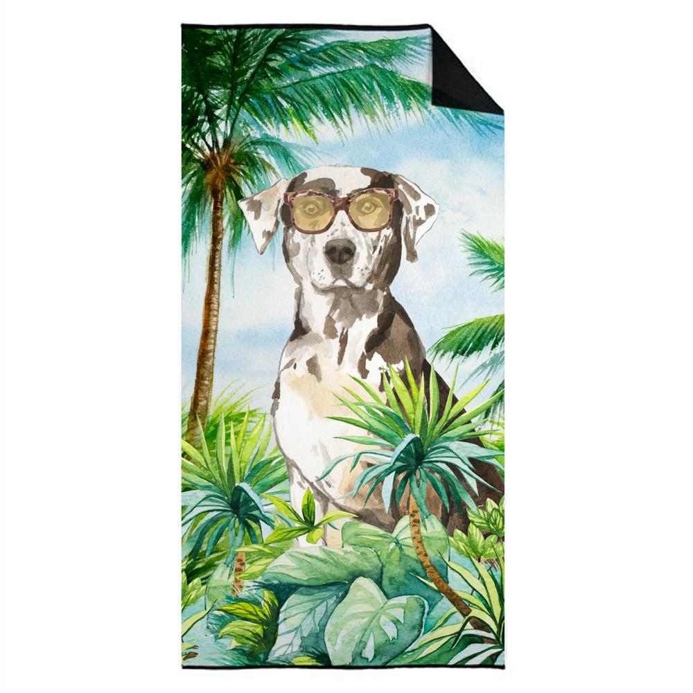 Buy this Catahoula Leopard Dog Premium Beach Towel CK3018TWL3060