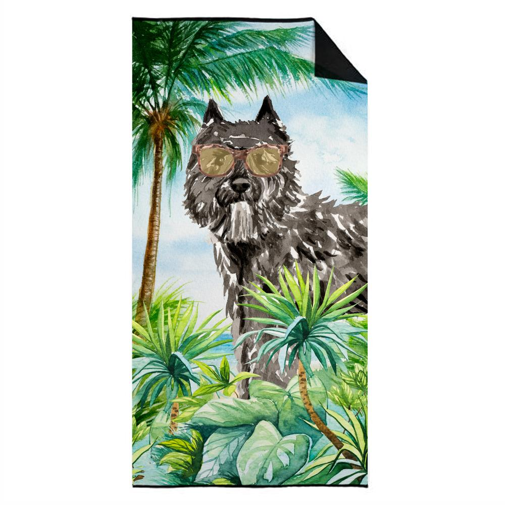 Buy this Bouvier des Flandres Premium Beach Towel CK3021TWL3060