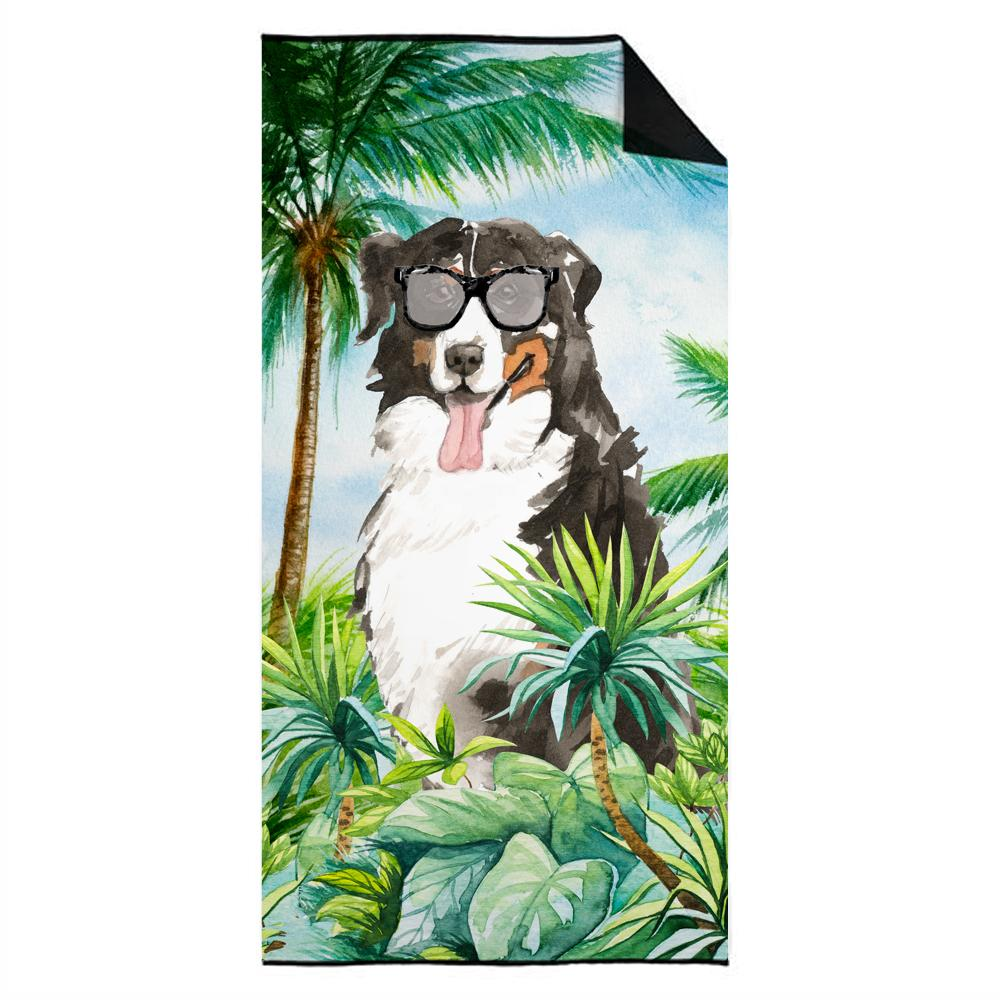 Buy this Bernese Mountain Dog Premium Beach Towel CK3025TWL3060