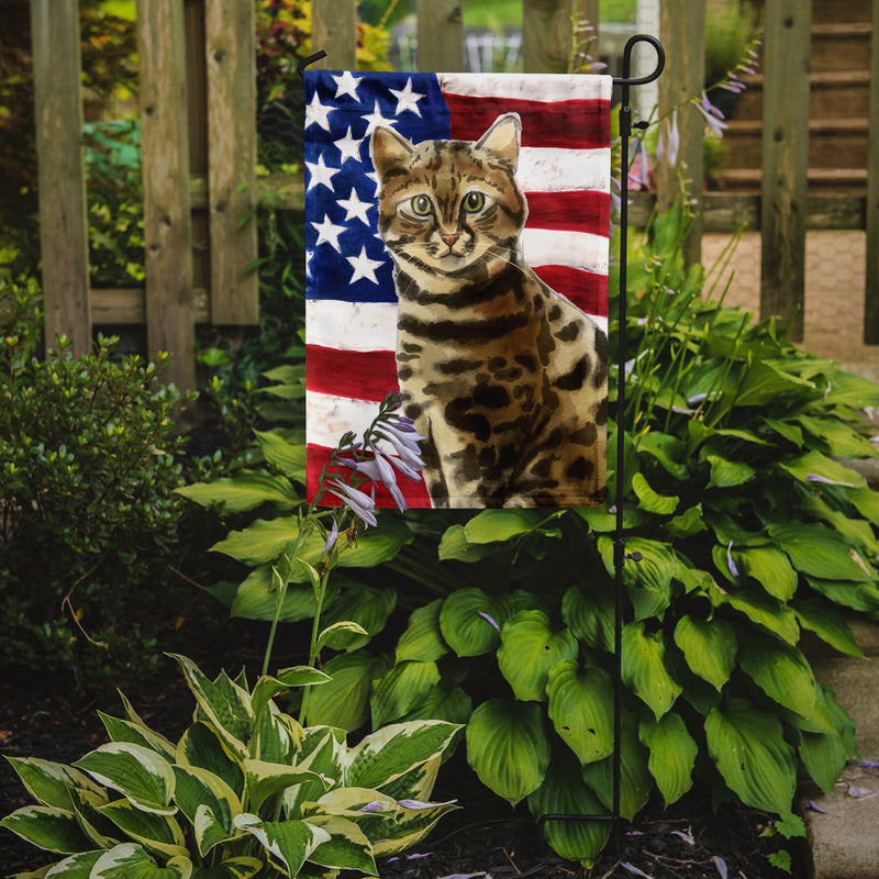 Buy this Bengal American Flag Flag Garden Size CK3030GF