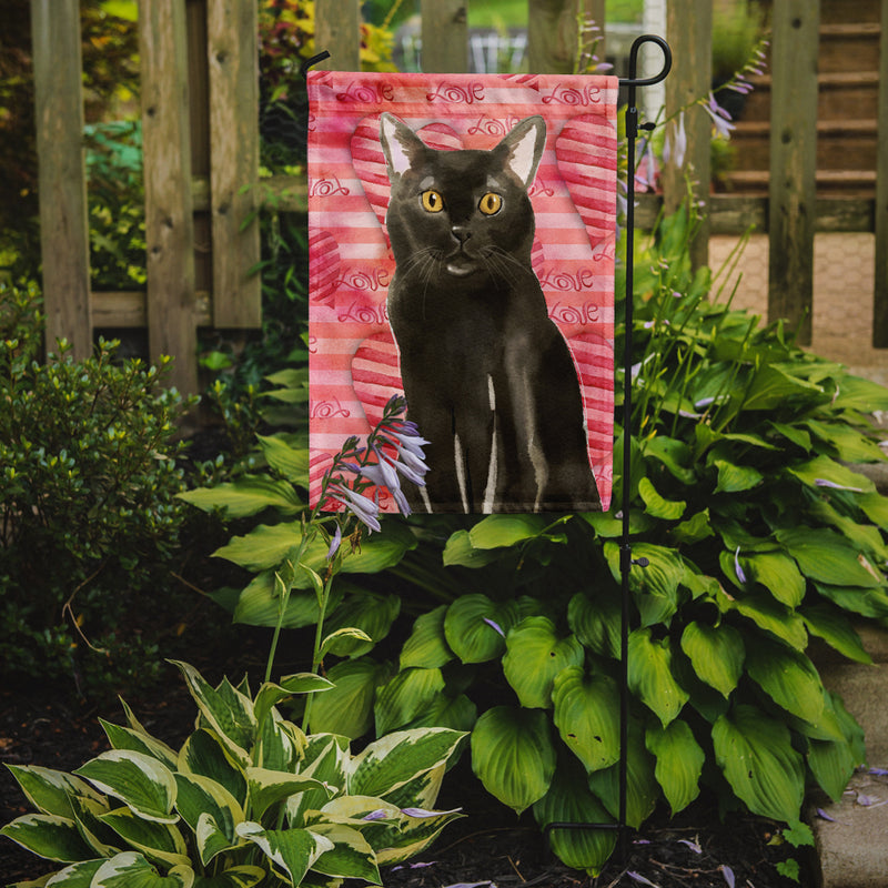 Buy this Bombay Cat Love Flag Garden Size CK3047GF