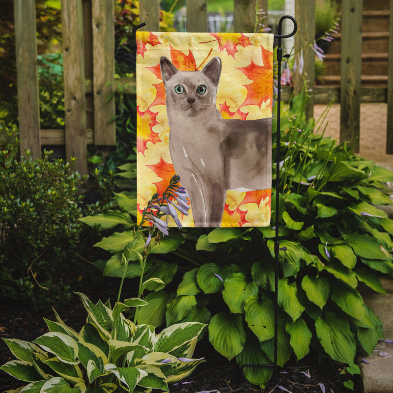 Buy this Tonkinese Fall Leaves Flag Garden Size CK3086GF
