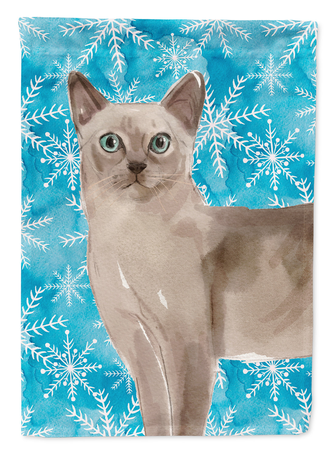 Buy this Tonkinese Winter Snowflake Flag Garden Size CK3116GF