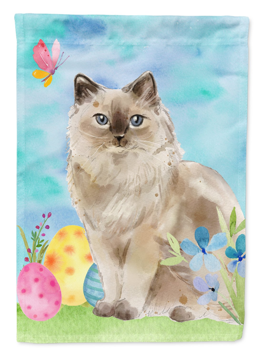 Buy this Ragdoll Easter Eggs Flag Garden Size CK3142GF