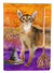 Buy this Abyssinian Halloween Flag Garden Size CK3177GF
