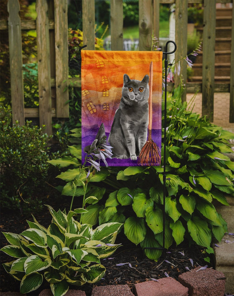 Buy this British Shorthair Halloween Flag Garden Size CK3183GF