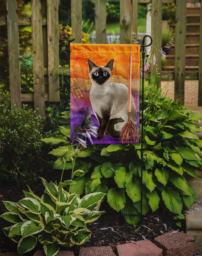 Buy this Siamese Halloween Flag Garden Size CK3189GF