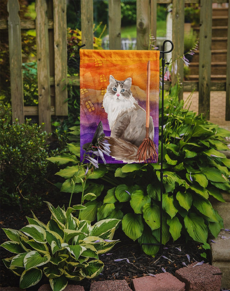 Buy this Siberian Halloween Flag Garden Size CK3190GF