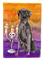 Buy this Hallween Black Labrador Retriever Flag Garden Size CK3197GF