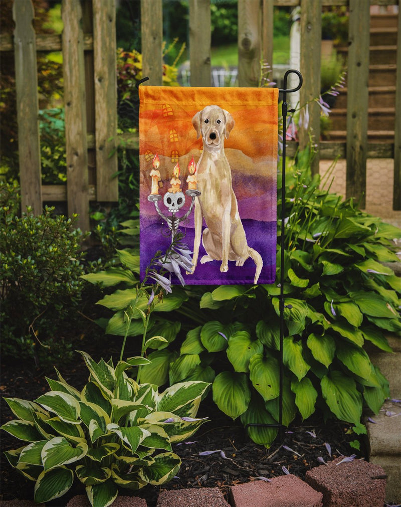Buy this Hallween Yellow Labrador Retriever Flag Garden Size CK3200GF