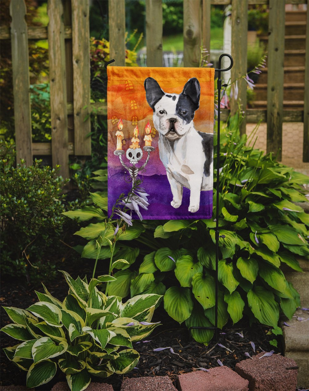 Hallween French Bulldog Flag Garden Size CK3206GF by Caroline's Treasures