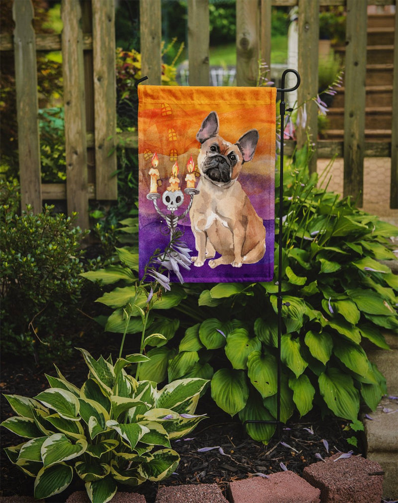 Buy this Hallween Fawn French Bulldog Flag Garden Size CK3216GF