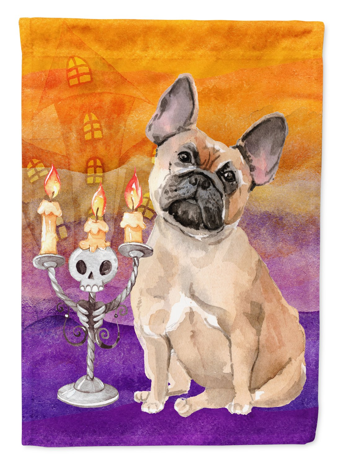 Hallween Fawn French Bulldog Flag Garden Size CK3216GF by Caroline's Treasures