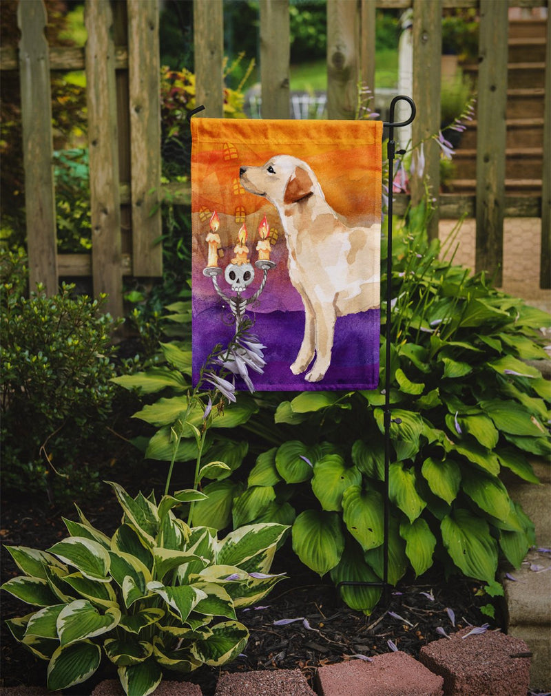 Buy this Hallween Labrador Retriever Yellow Flag Garden Size CK3222GF