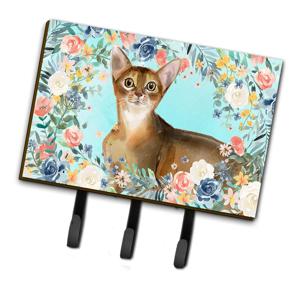 Buy this Abyssinian Spring Flowers Leash or Key Holder CK3386TH68
