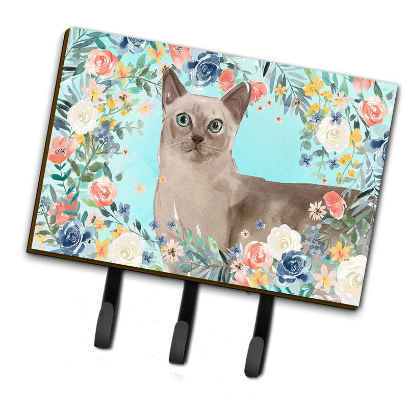 Buy this Tonkinese Spring Flowers Leash or Key Holder CK3400TH68