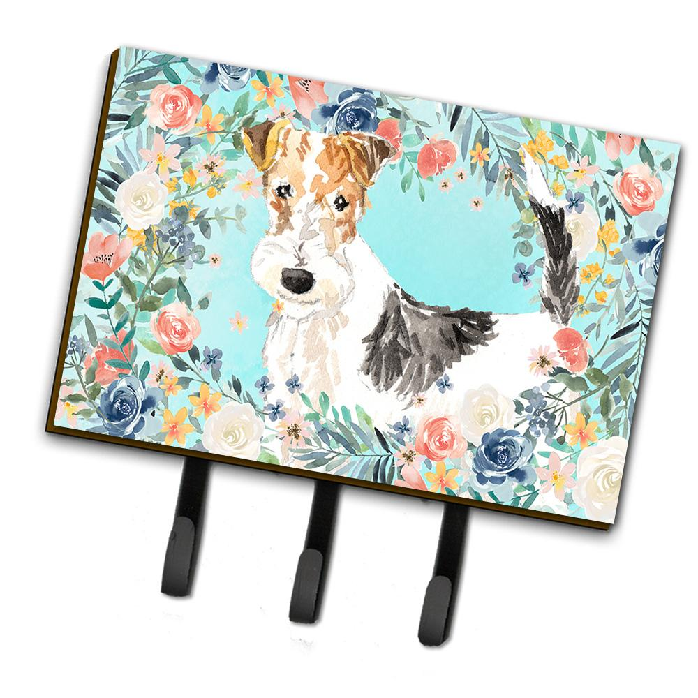 Fox Terrier Leash or Key Holder CK3402TH68 by Caroline's Treasures