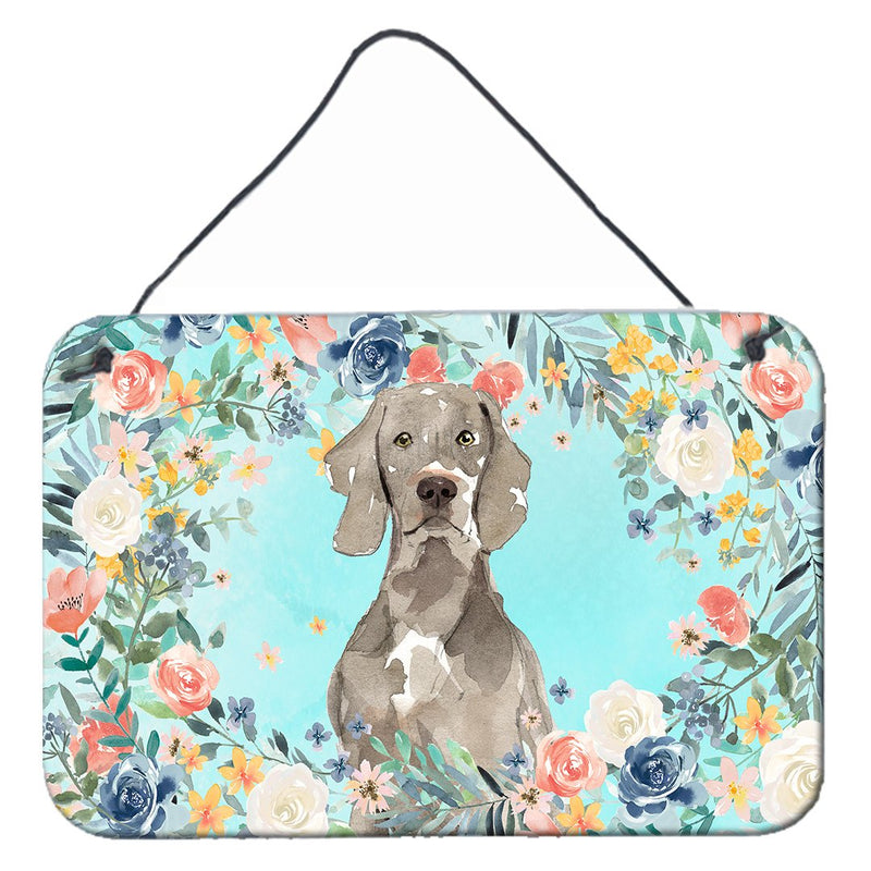 Buy this Weimaraner Wall or Door Hanging Prints CK3406DS812