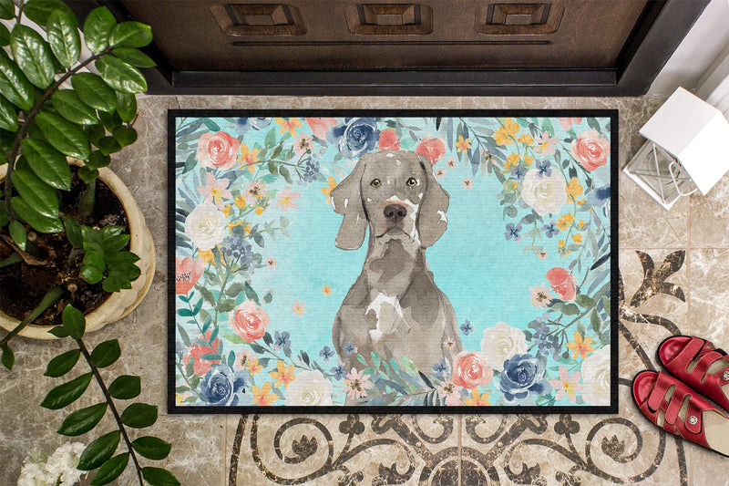 Buy this Weimaraner Indoor or Outdoor Mat 24x36 CK3406JMAT