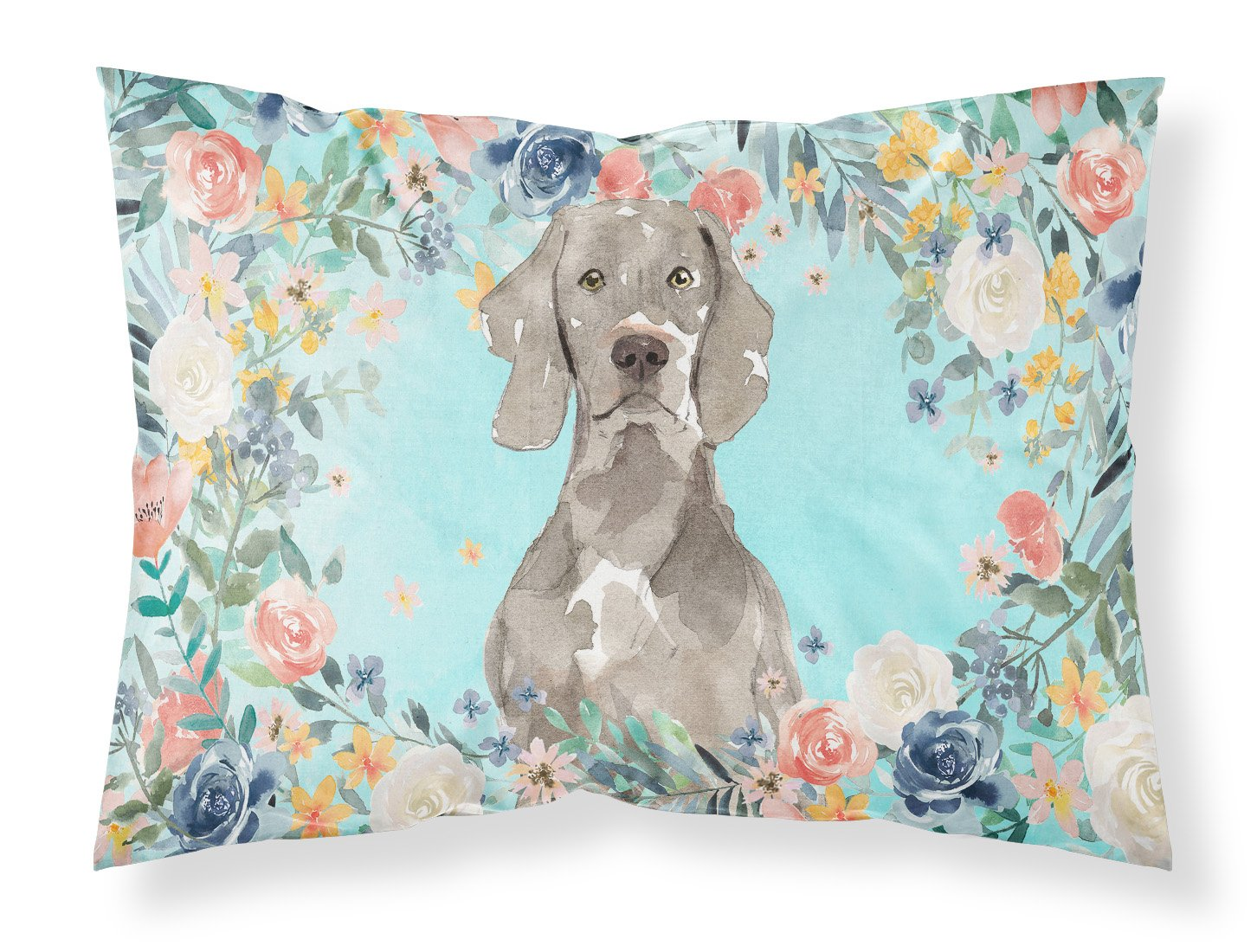 Buy this Weimaraner Fabric Standard Pillowcase CK3406PILLOWCASE