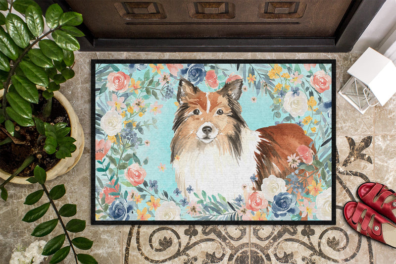 Buy this Sheltie Indoor or Outdoor Mat 24x36 CK3411JMAT
