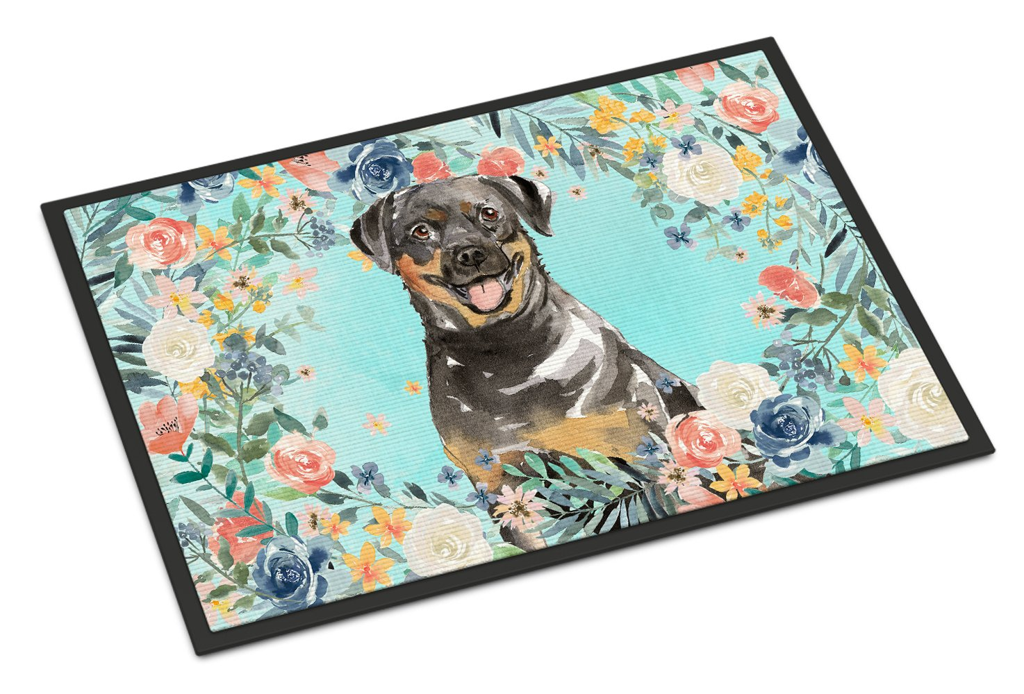 Rottweiler Indoor or Outdoor Mat 24x36 CK3415JMAT by Caroline's Treasures
