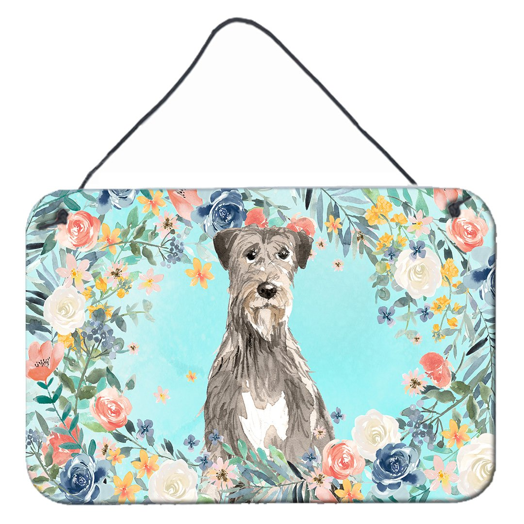 Buy this Irish Wolfhound Wall or Door Hanging Prints CK3423DS812