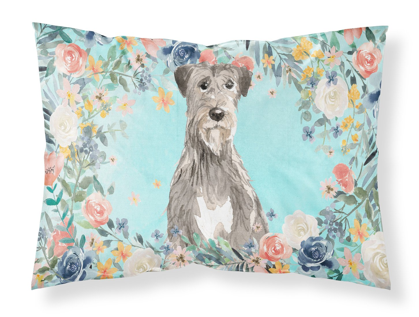 Buy this Irish Wolfhound Fabric Standard Pillowcase CK3423PILLOWCASE