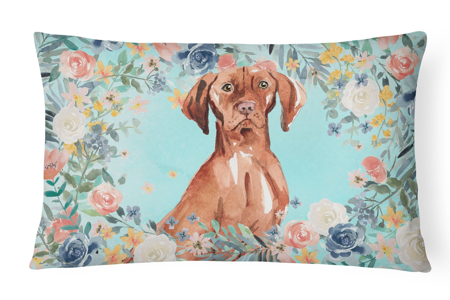 Buy this Vizsla Canvas Fabric Decorative Pillow CK3424PW1216