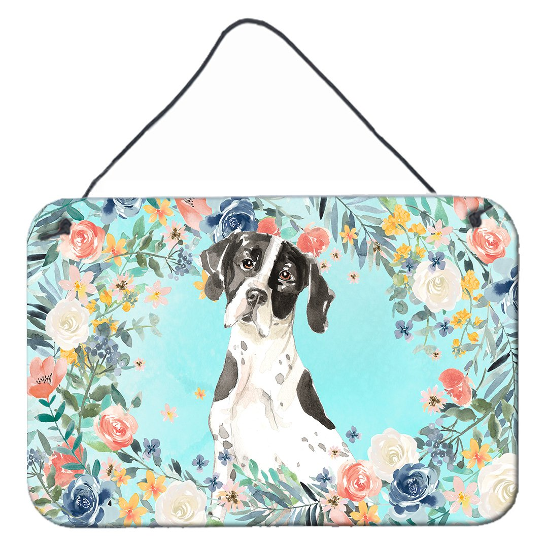 English Pointer Wall or Door Hanging Prints CK3427DS812 by Caroline's Treasures