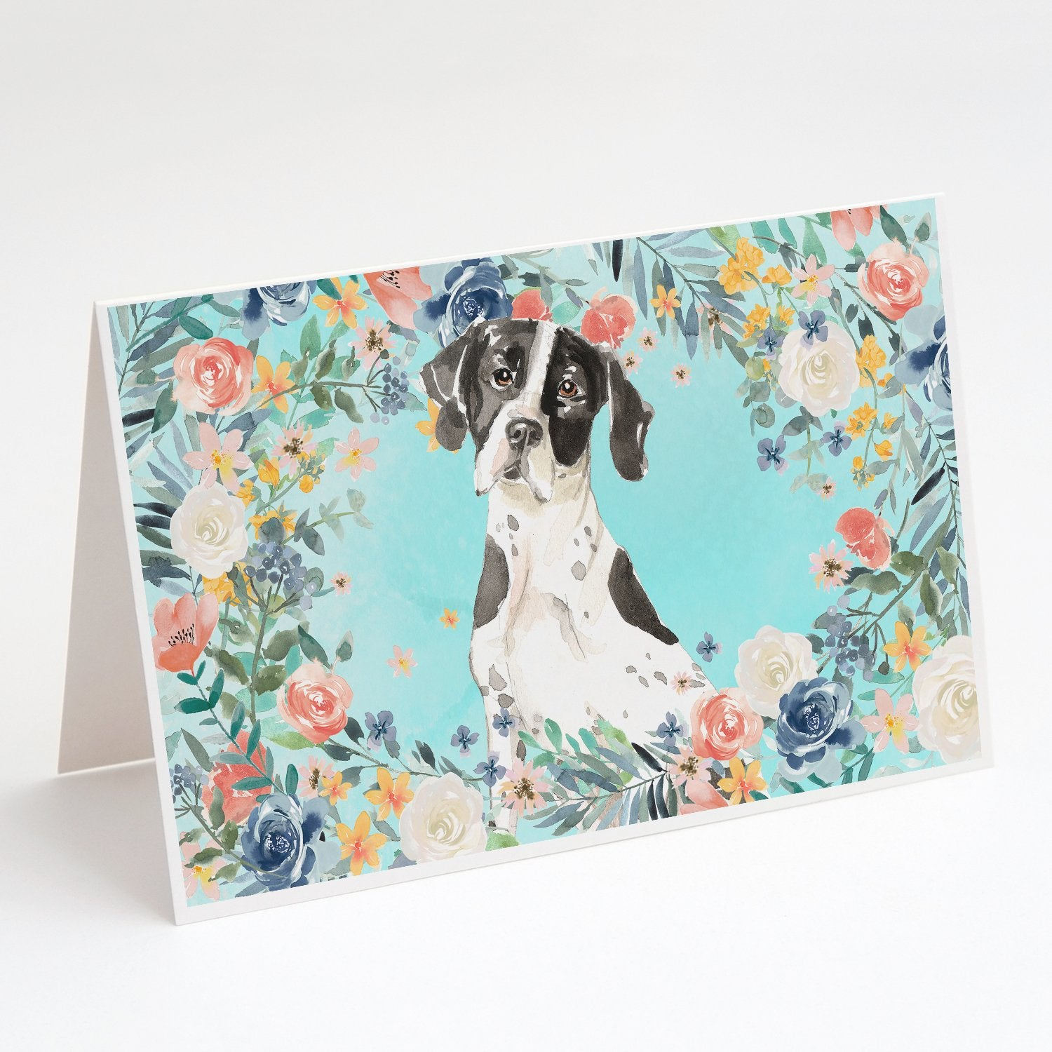Buy this English Pointer Greeting Cards and Envelopes Pack of 8