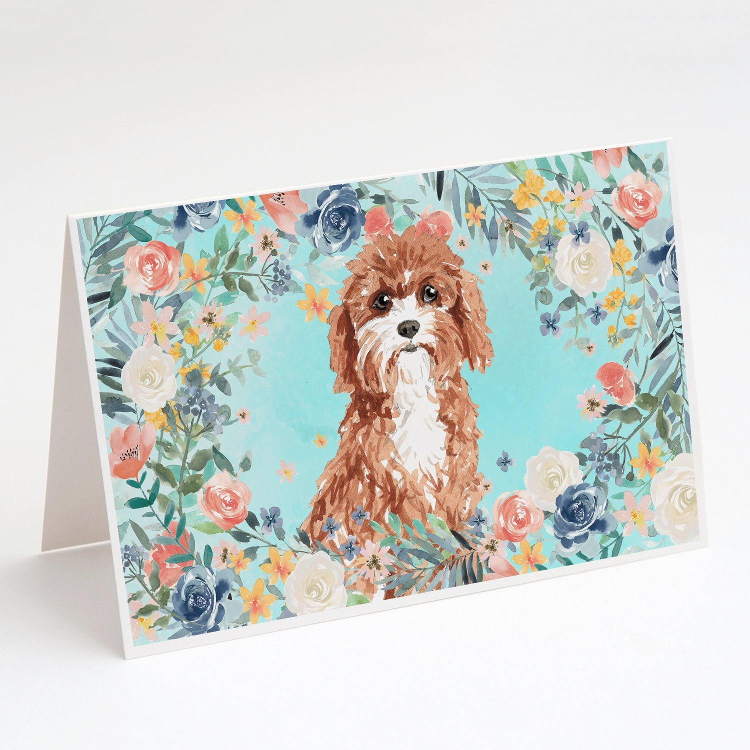 Buy this Cavapoo Greeting Cards and Envelopes Pack of 8