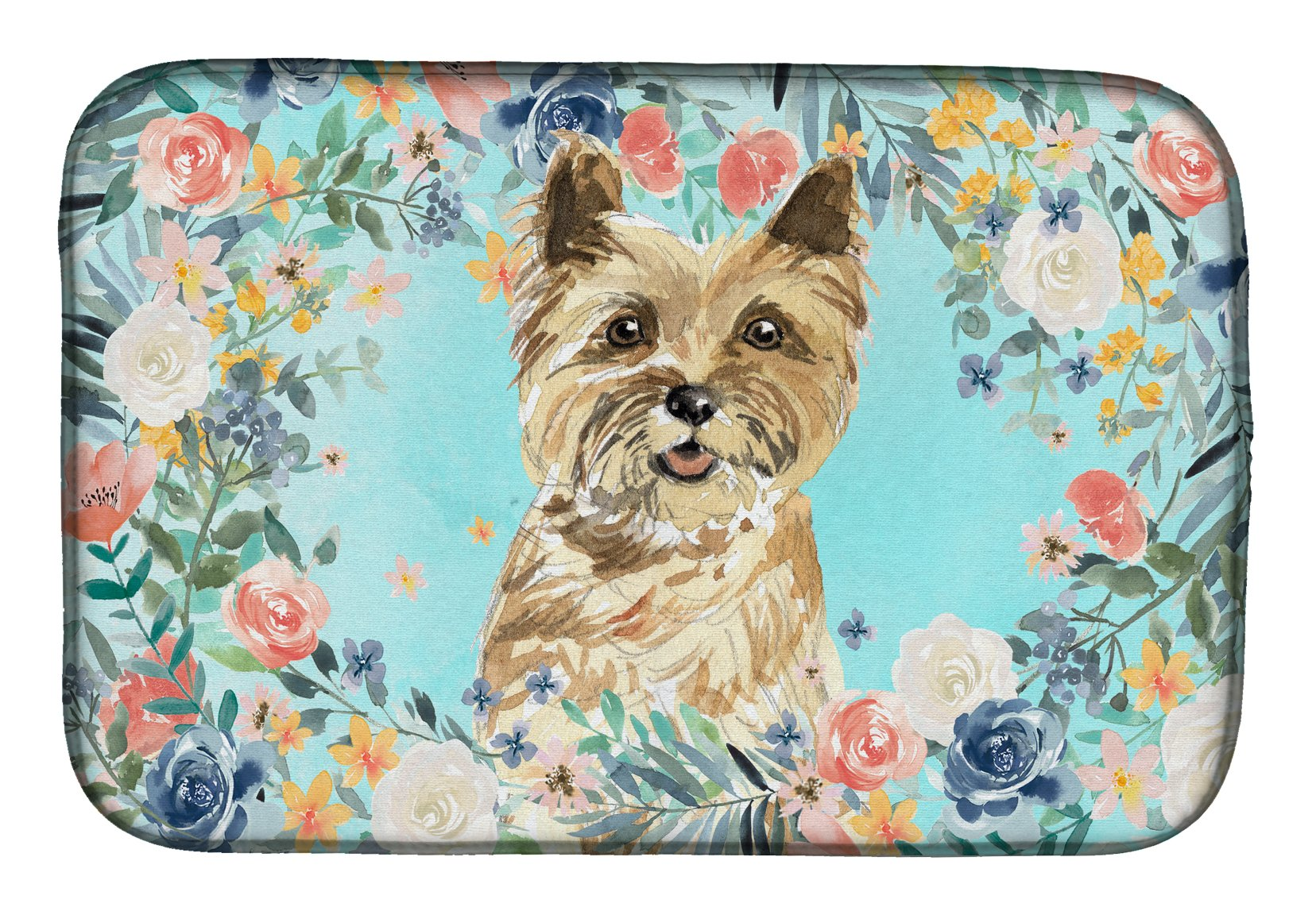 Buy this Cairn Terrier Dish Drying Mat CK3430DDM