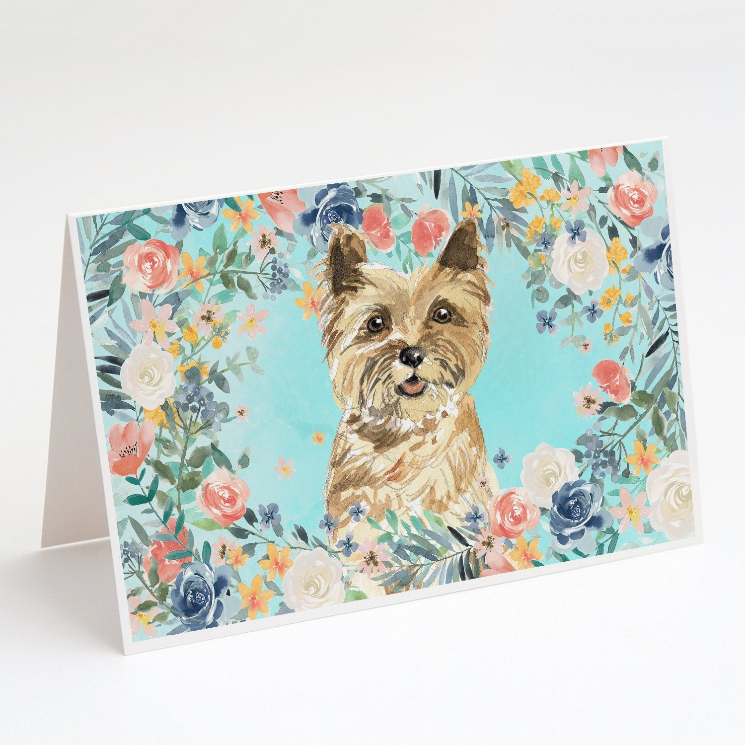 Buy this Cairn Terrier Greeting Cards and Envelopes Pack of 8