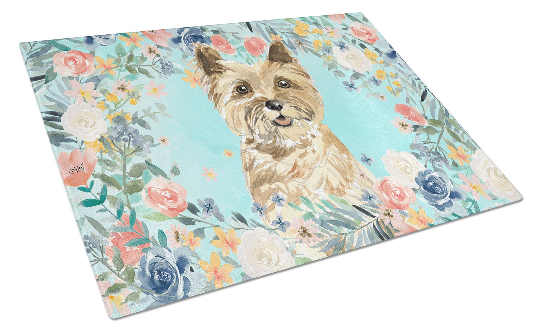 Buy this Cairn Terrier Glass Cutting Board Large CK3430LCB